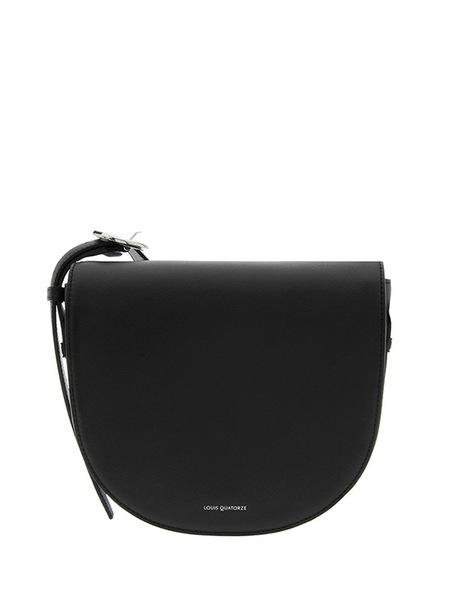Louis Quatorze Halfmoon Bag - BLACK