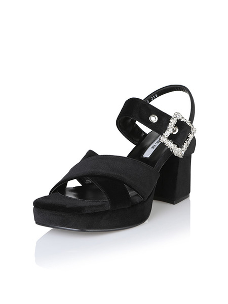YUUL YIE Irene Sandals - Black
