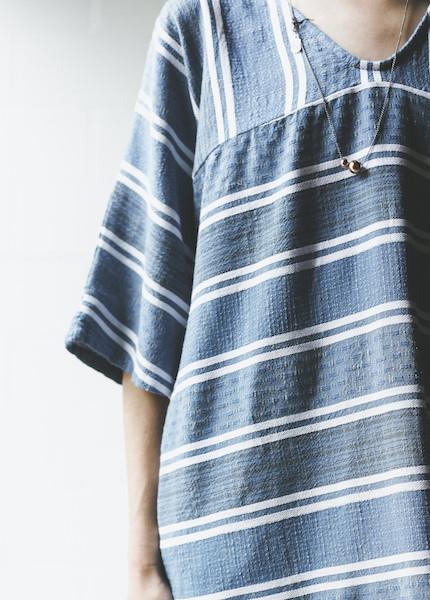 Ace & Jig - Harper Dress in Blue Jean