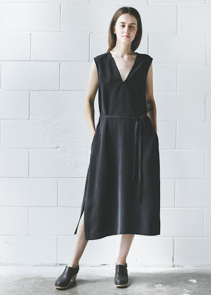 Zii Ropa  Narra Dress - Soft Black