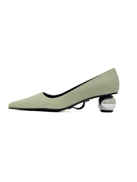 Flat Apartment Heels - Pale Green