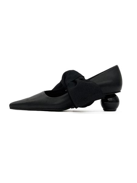 Flat Apartment Heels - Black