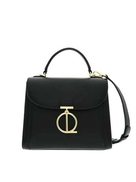 Louis Quatorze Monte Satchel Bag - BLACK