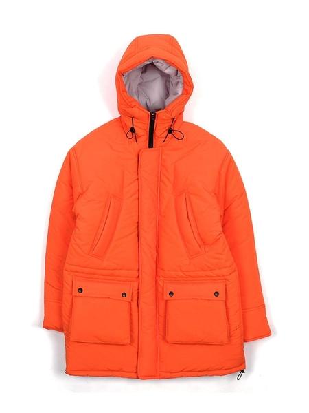 Unisex YOUTHBATH Overfit Hood Padding Jumper - Orange