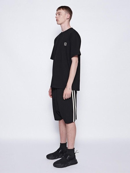 Dbydgnak 2 Line Baggy Shorts - Black