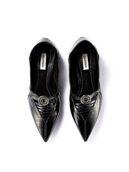 Vintage SALONDEJU Babouche - Black