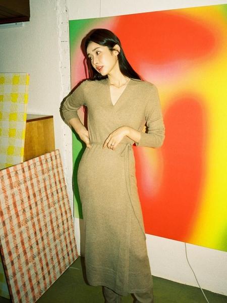 PURE CASHMERE NYC Maxi Wrap Dress