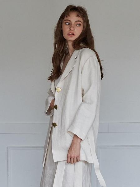Studio.G Mode Jacket - Light Ivory