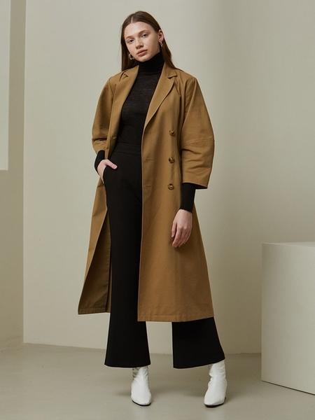 LOOKAST Cotton Volume Dress - Beige