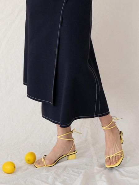 Dough Strappy Sandal - Yellow