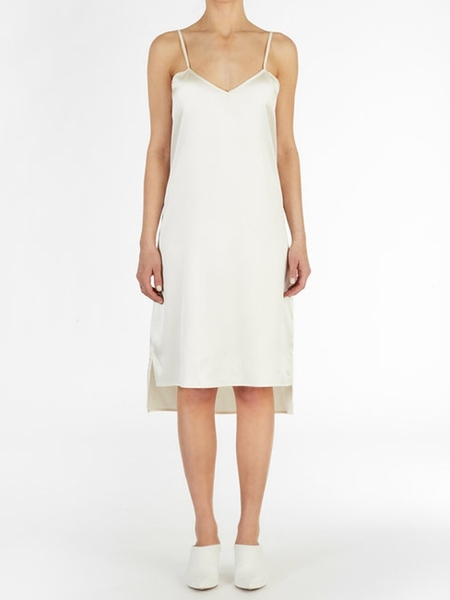 EI8HTDREAMS High Low Hem Satin Silk Slip Dress
