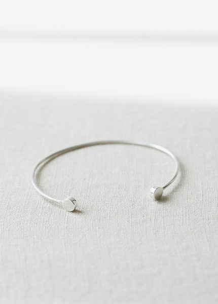 Another Feather  Cirque Cuff - Sterling Silver