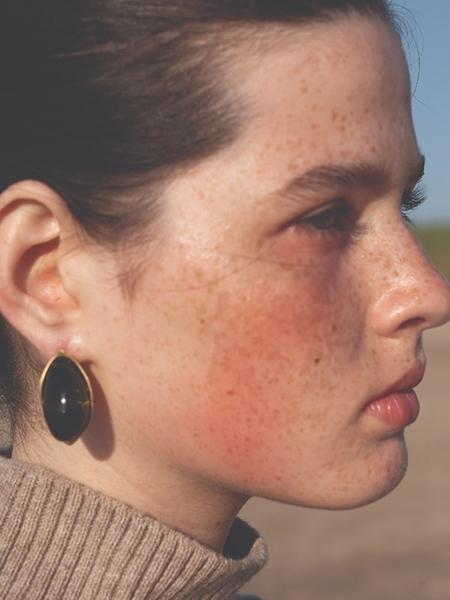1064STUDIO Deep In Glassland Earrings - Brown