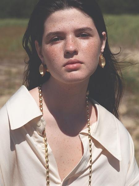 1064STUDIO Deep In Glassland Long Necklace - Gold