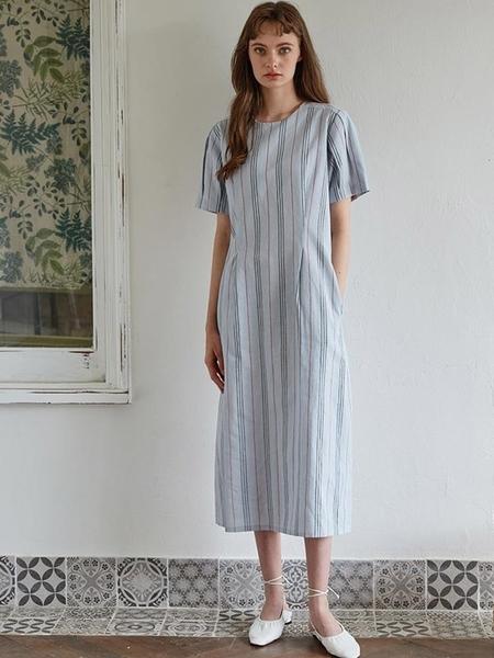 Studio.G Yony Dress - Mint Stripe