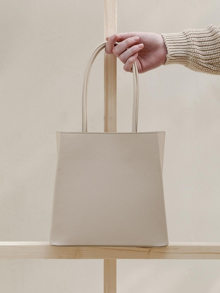 Léméls Small Shopper Bag - Ivory