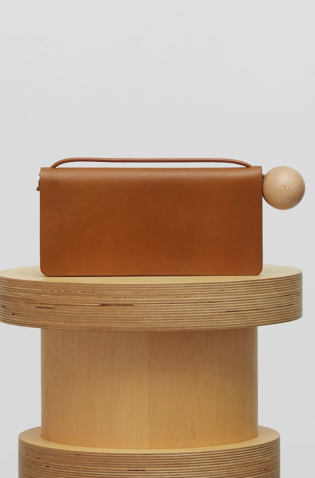 Building Block Book Wallet - Chestnut