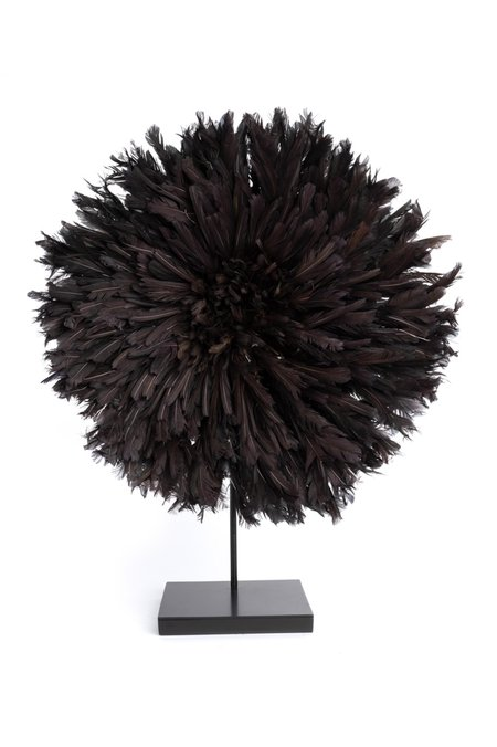 Ngala Trading Juju Hat on Stand - Black