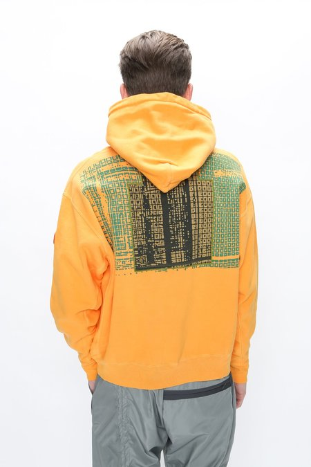 Cav Empt Overdye Wire Mesh Heavy Hoodie - Orange