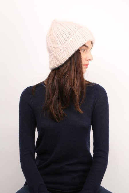 KARAKORAM Knitted Hat - Light Pink