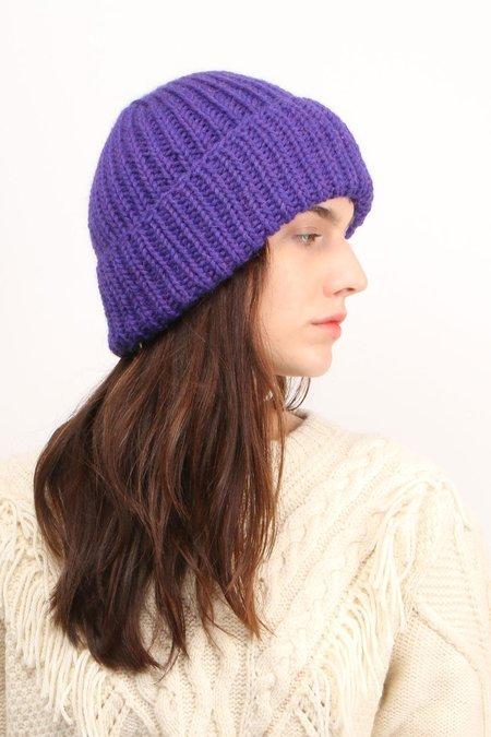KARAKORAM Knit Beanie - Purple