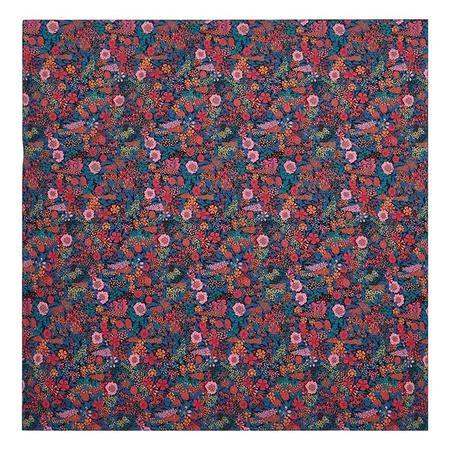 kids Bonton Scarf - Blue Floral Liberty Print