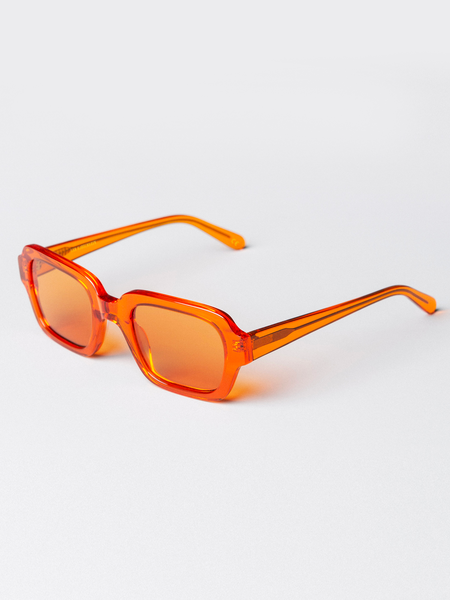 Unisex Han Kjobenhavn Code Trans Sunglasses - Orange