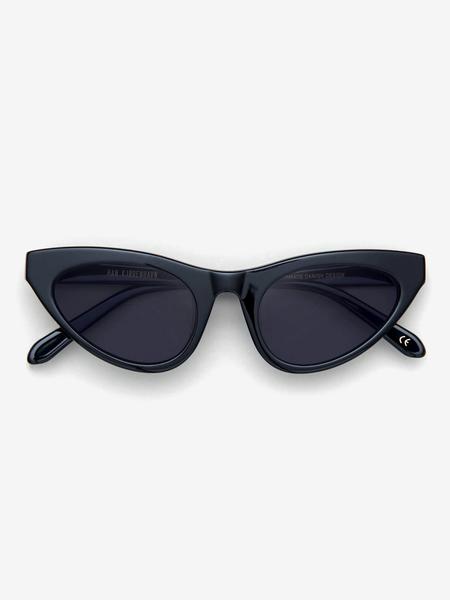 Unisex Han Kjøbenhavn Race Sunglasses - Black