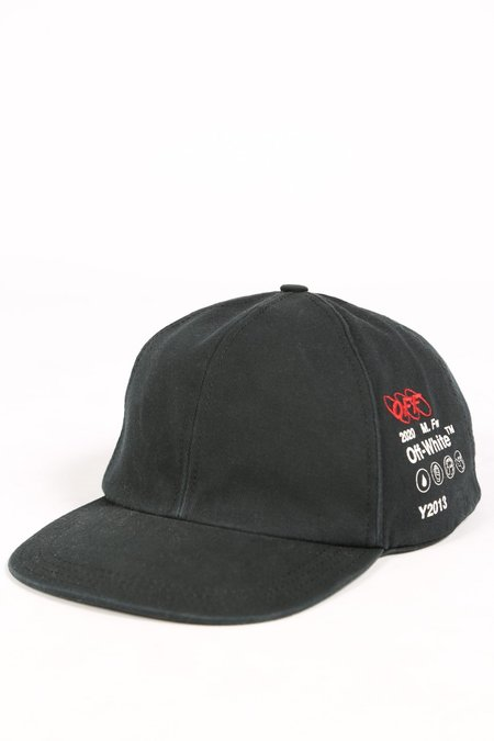 Off White INDUSTRIAL 5 PANEL CAP - BLACK