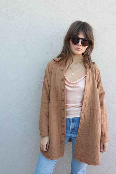 Grade & Gather Oversized Quilted Tunic