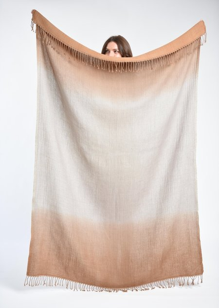 Bloom and Give Ewa Oversized Scarf - Camel
