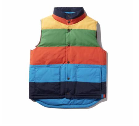 Simon Reversible Vest - Multi Stripe