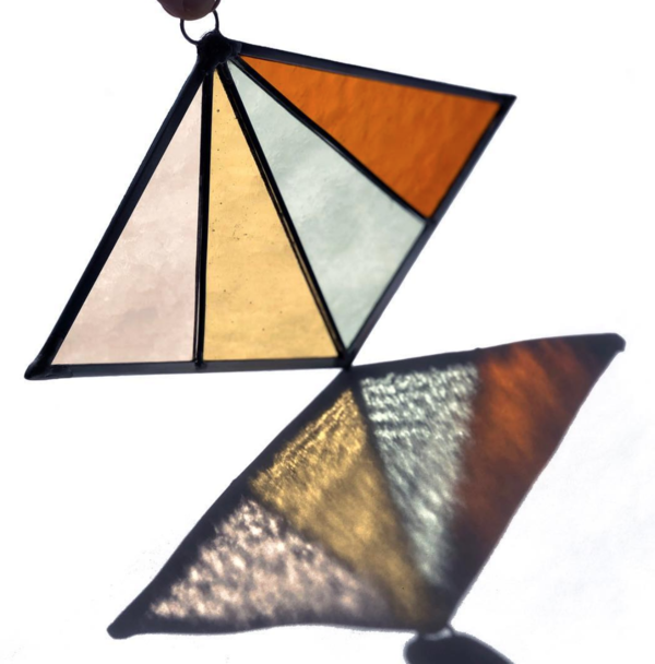 Debbie Bean Diamond Suncatcher - Field