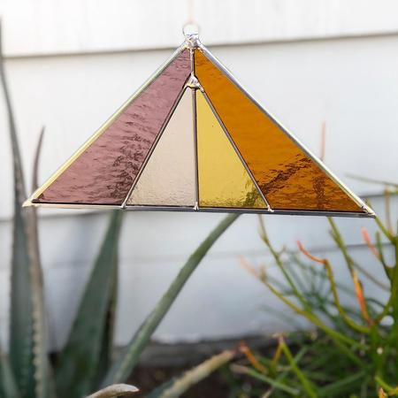 Debbie Bean: Triangle Suncatcher - Summer