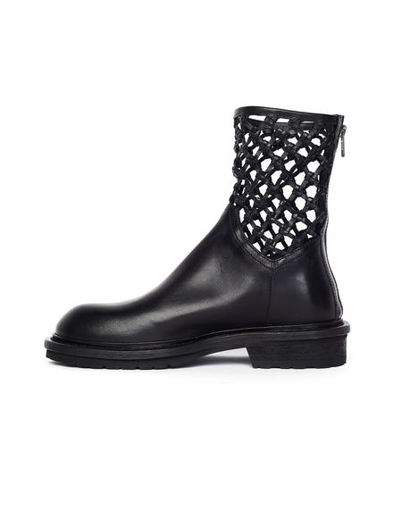 Ann Demeulemeester Net Ankle Boot - Tucson Nero