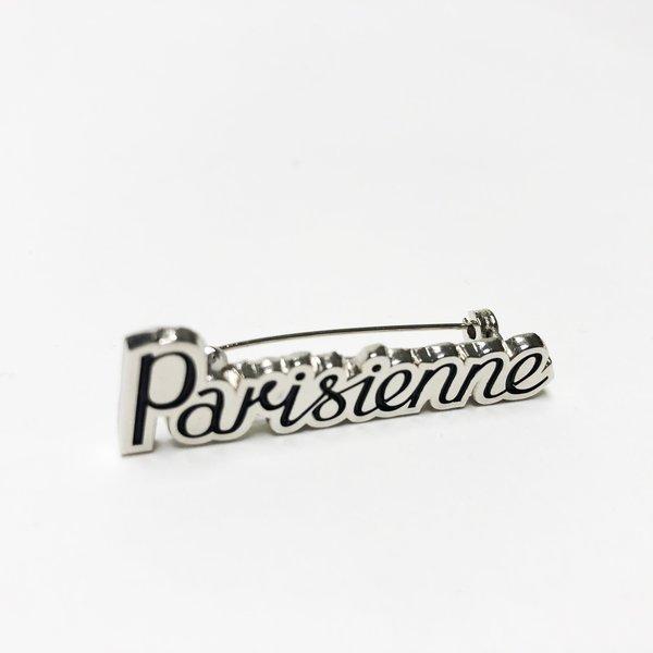 Kitsune Parisienne Brooch - Nickel