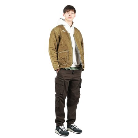 Liberaiders QUILTED JACKET - OLIVE