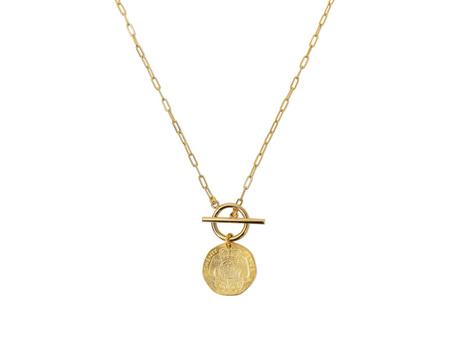 Electric Picks Big Spender Necklace - 14K Gold
