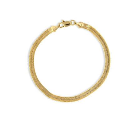 Electric Picks Python Bracelet - 14K Gold