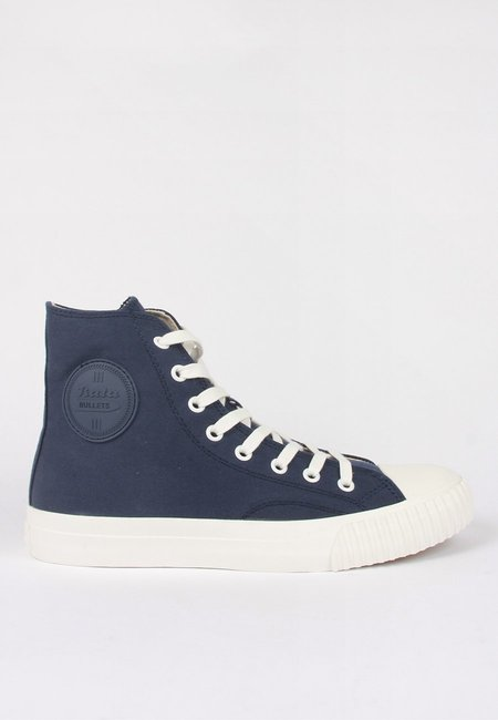 BATA BULLETS High Cut Canvas - navy/white