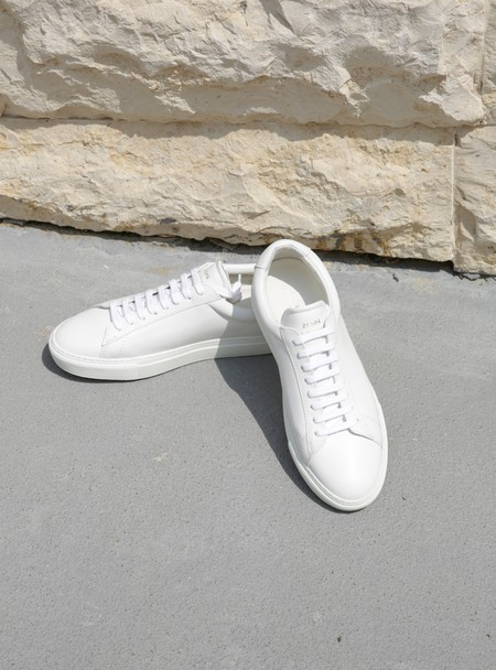 ZESPA High NAPPA sneaker - WHITE