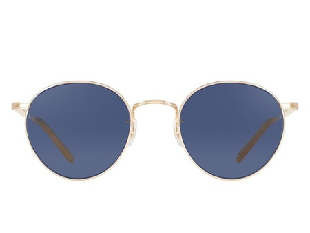 Garrett Leight Wilson 46 - GOLD TOFFEE