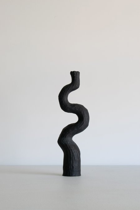 Kerryn Levy Asymmetry Vessel - Charcoal