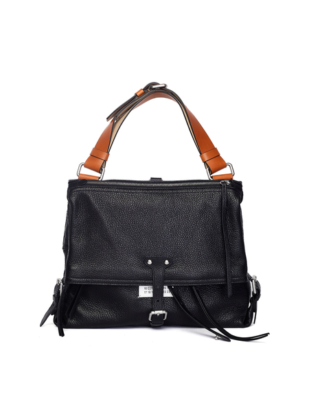 Maison Margiela Leather Bag - Black
