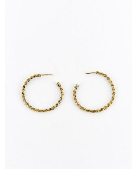 Ombre Claire rotation hoops - Bronze