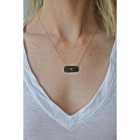 Jill Massey Jewelry Monogram Necklace - 14kt Gold Fill