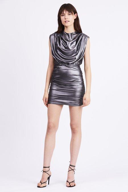 Third Form Mirror Mirror Gather Up Dress - Silver
