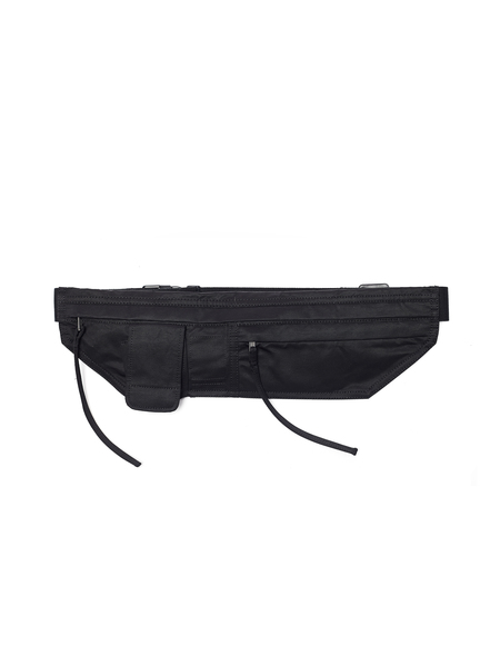 Rick Owens DRKSHDW Nylon Cotton Belt Bag - Black