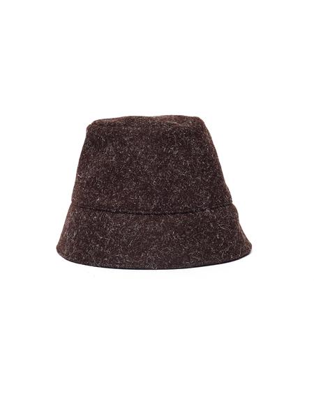 Jil Sander Wool Hat - Brown