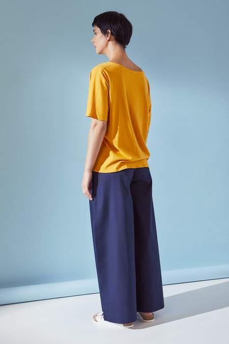 Kowtow Loose Fit Tee - Sun